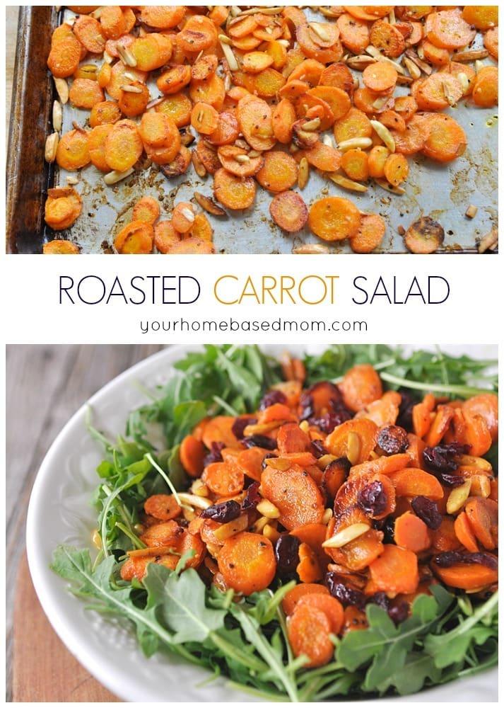 Roasted Carrot Salad.
