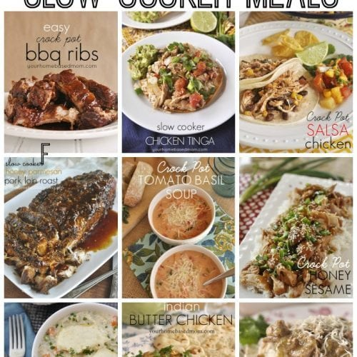 30+ Easy, Delicious, Family Friendly, Slow Cooker Meals