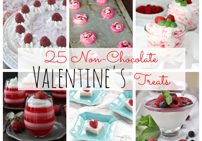 25 Non-Chocolate Valentine's Day Treats