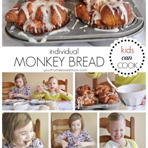 Individual Monkey Bread @yourhomebasedmom 1