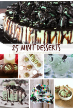 25 Mint Desserts Roundup