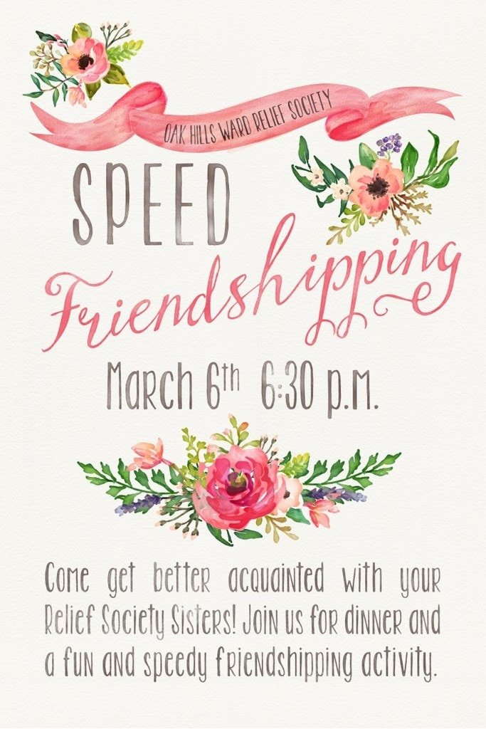 Speed friending questions