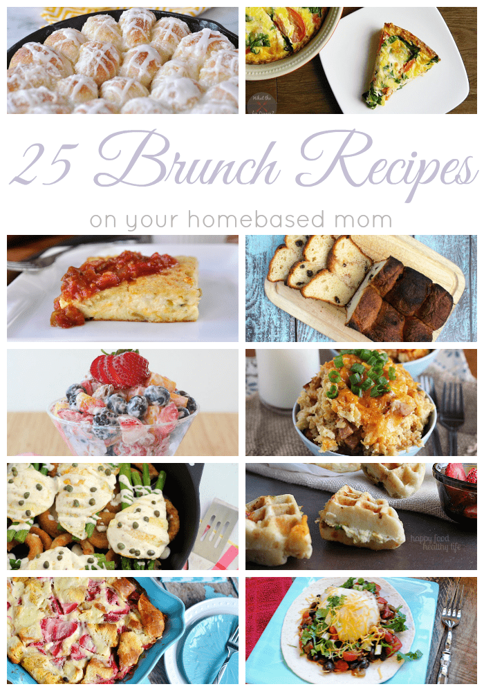25 Brunch Recipes