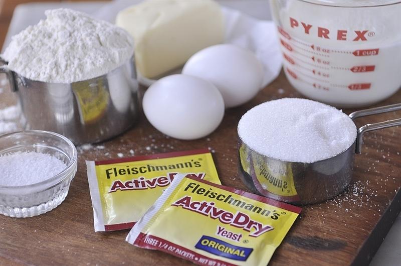 Lemon Roll Ingredients