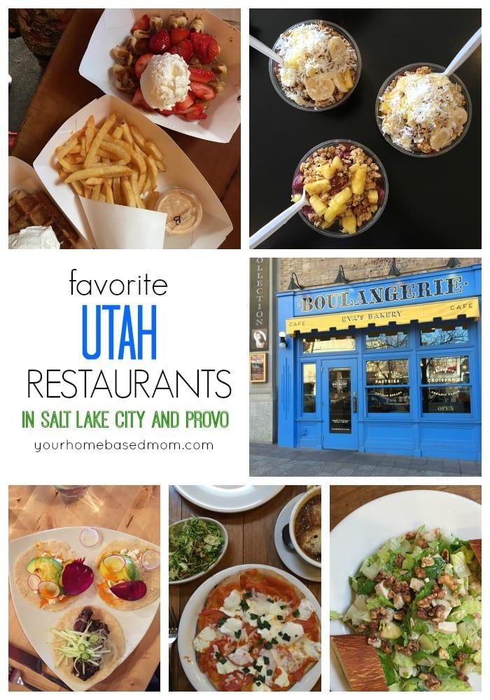Favorite Utah Restaurants