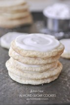 Gluten Free Almond Sugar Cookie