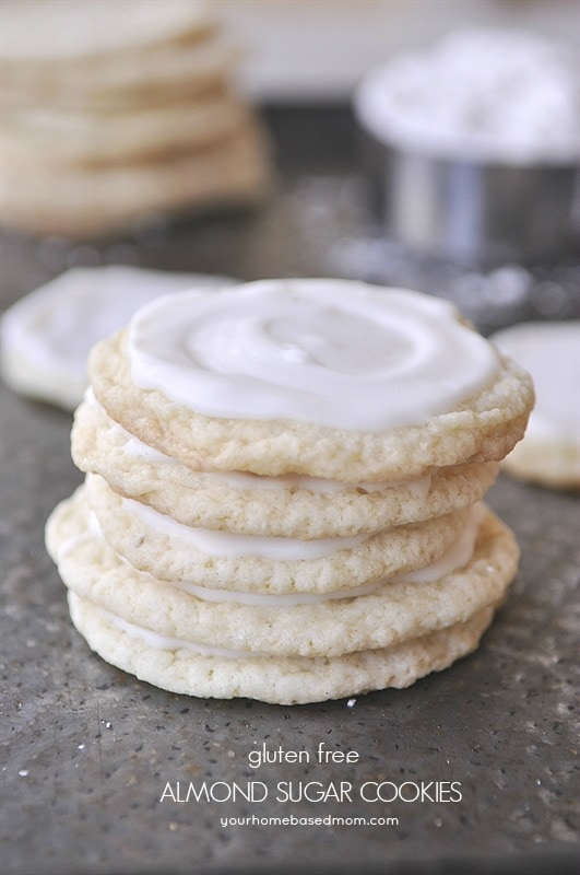 Gluten Free Almond Sugar Cookie