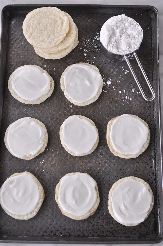 Gluten Free Almond Sugar Cookies