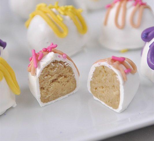 Golden Oreo Easter Egg Truffles