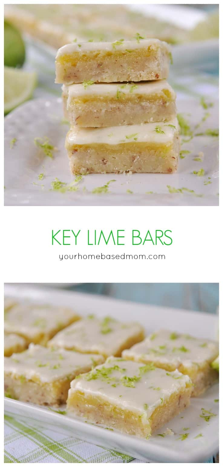 Key Lime Bars are amazing the day you make them but even more amazing ...