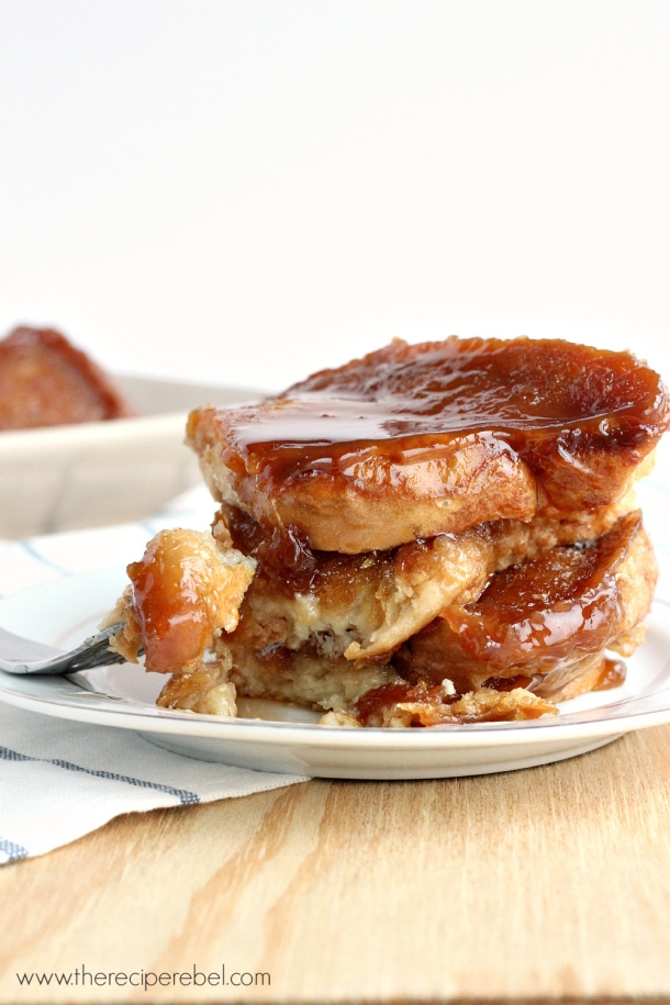 Light Overnight Caramel French Toast