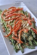 Red Pepper Asparagus