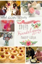 Speed Friendshipping Party}Relief Society Activity