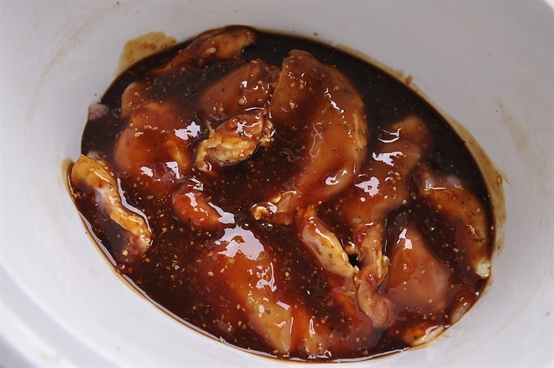 Slow Cooker Honey Garlic Ginger Chicken Recipe