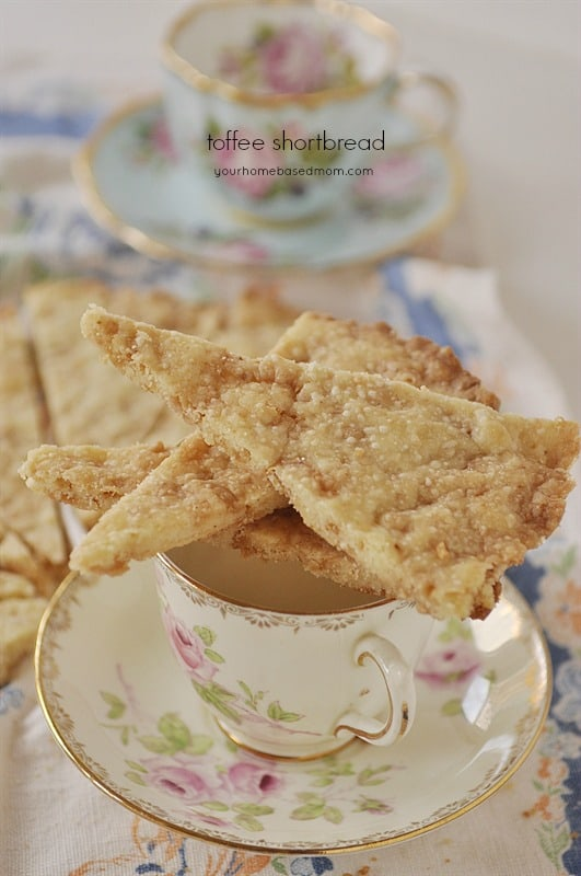 Toffee Shortbread