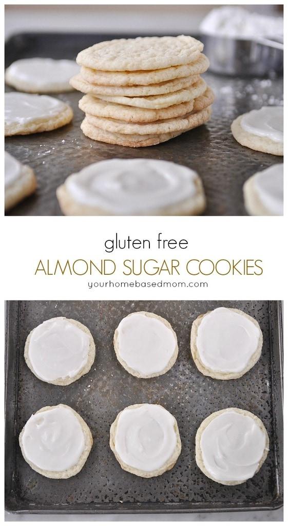 gluten free almond sugar cookies from yourhomebasedmom