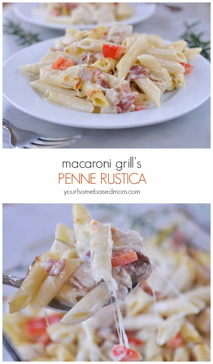 macaroni grill penne rustica copy cat recipe