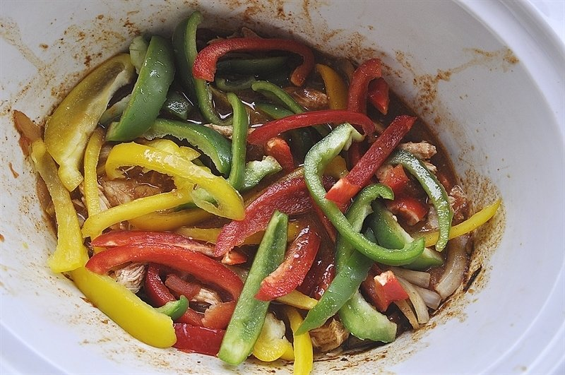 slow cooker fajita recipe