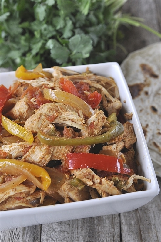 chicken fajita recipe slow cooker