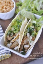Chipotle-Lime Chicken Tacos