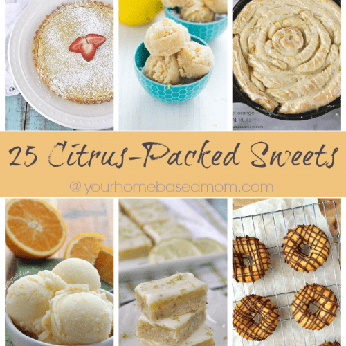 25 Citrus Packed Sweets