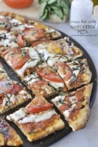 Thin Crust Margherita Pizza