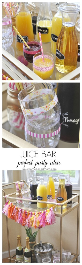 Juice Bar @yourhomebasedmom
