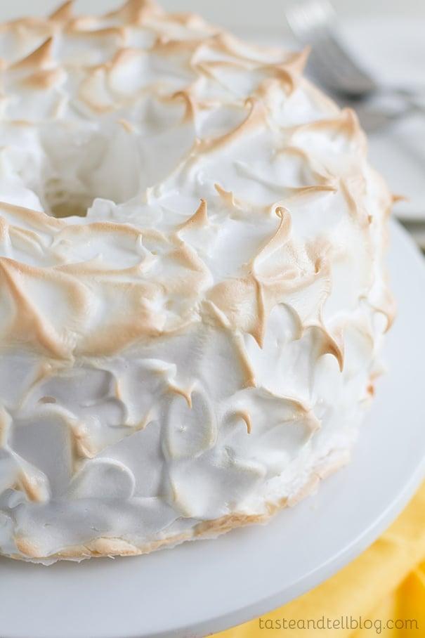 Sharing A Lemon Meringue Ice Cream Cake Recipes — Dishmaps