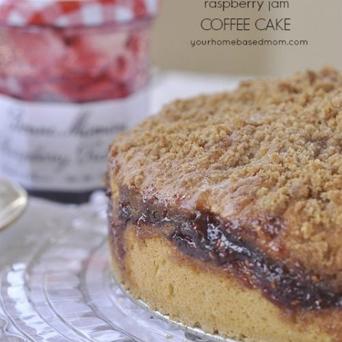 Raspberry Jam Coffee Cake and a Giveaway
