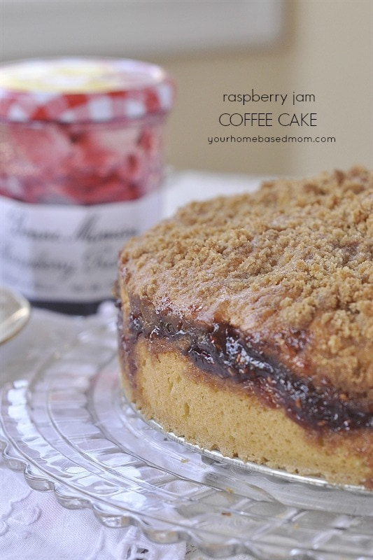 Raspberry Jam Coffee Cake