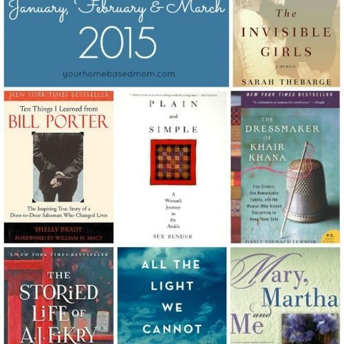 January, February and March 2015 Recommended Reads