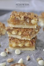 White Chocolate Pecan Pie Bars
