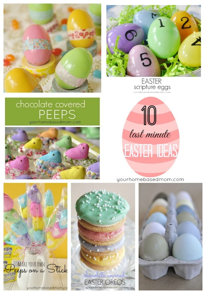 last minute easter ideas
