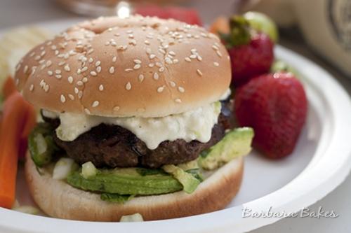 Queso-Bacon-Burger
