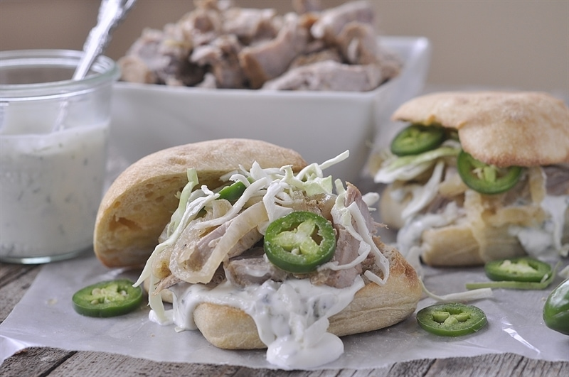 Slow Cooker Pork Torta