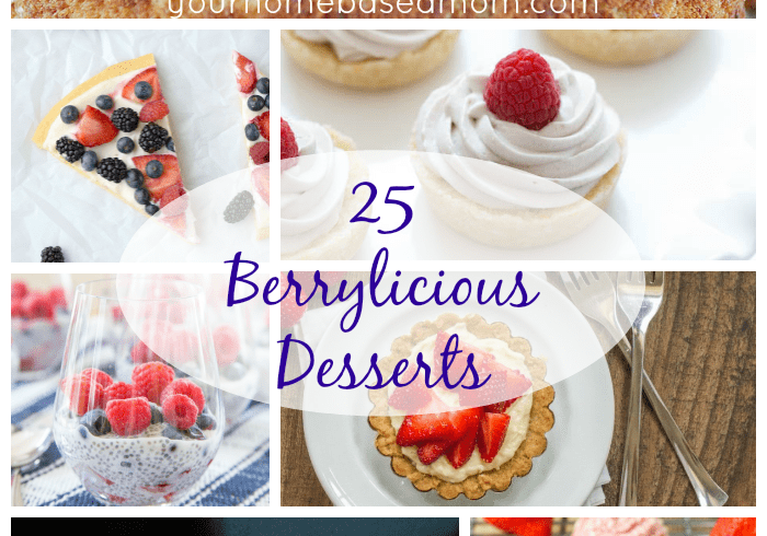 25 Berry Desserts