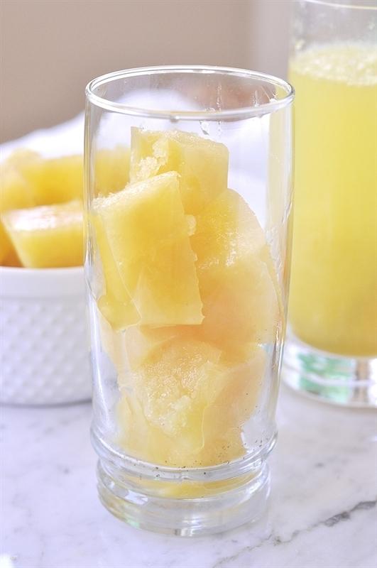 Fruit slush cubes