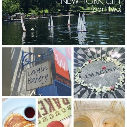 Places to See and Eat in New York City}Part Two