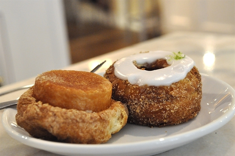 Dominique Ansel Bakery and cronuts