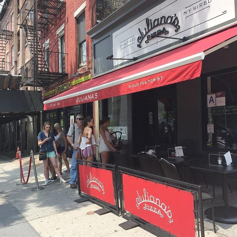 Julianas Pizza in Brooklyn