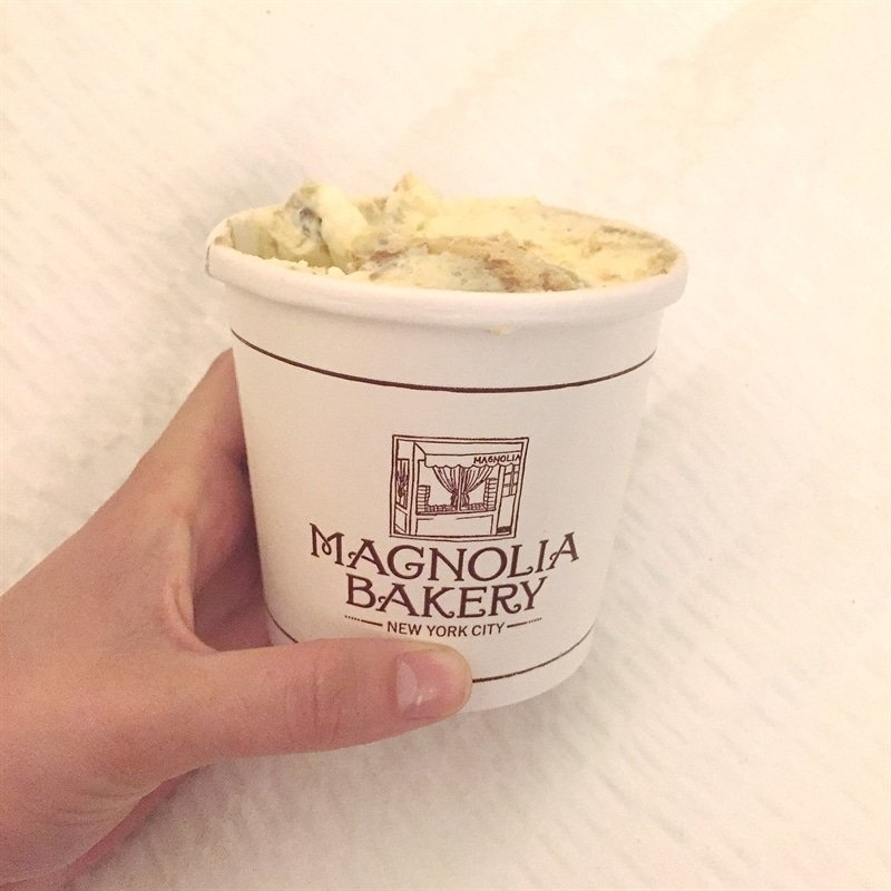 Banana Pudding from Magnolia Bakery