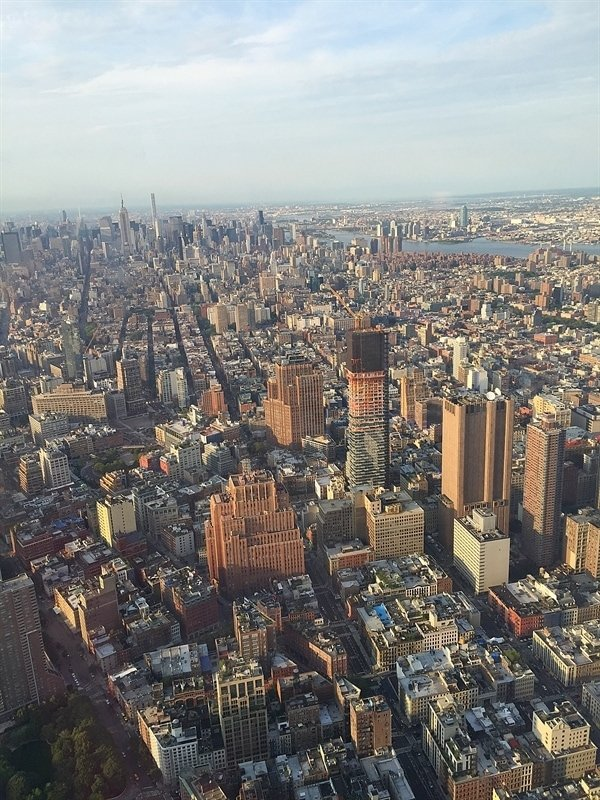 View from One World Trade Center.