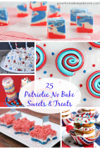25 Patriotic No Bake Sweets & Treats