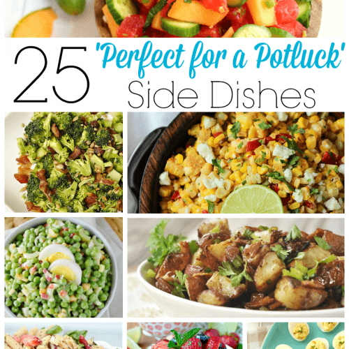 25 Perfect for a Potluck Side Dishes