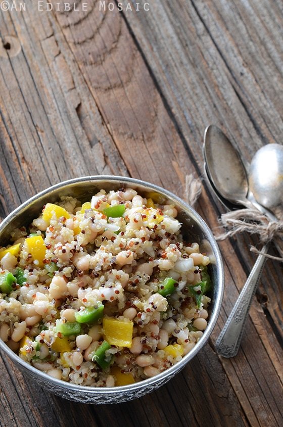 Tri-Color-Quinoa-White-Bean-and-Bell-Pepper-Salad-2