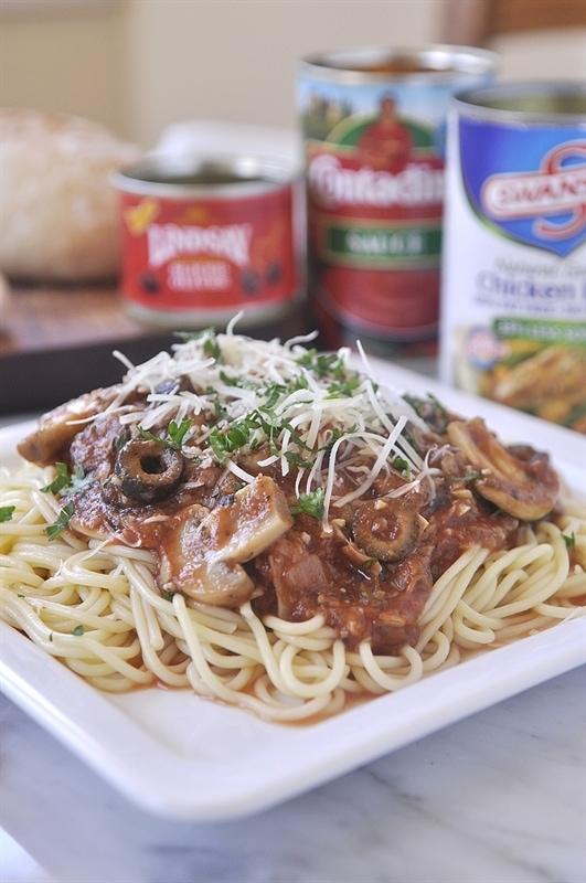 Artichoke Mushroom Marinara Sauce