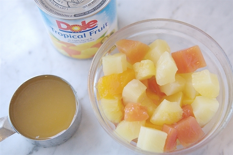 DOLE Canned Tropical Fruit