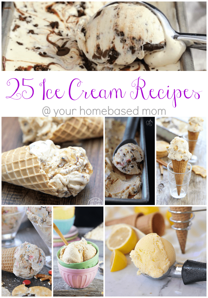 25 Ice Cream Recipes to Beat the Summer Heat!