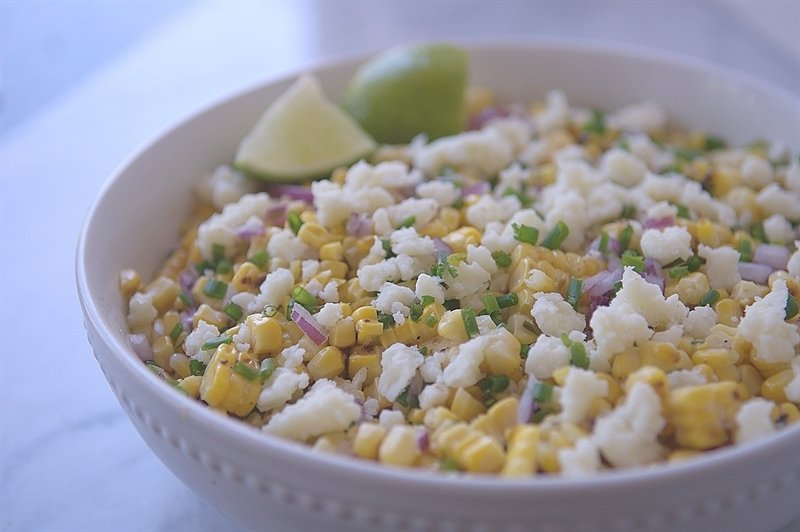 Roasted Mexican Corn Salad
