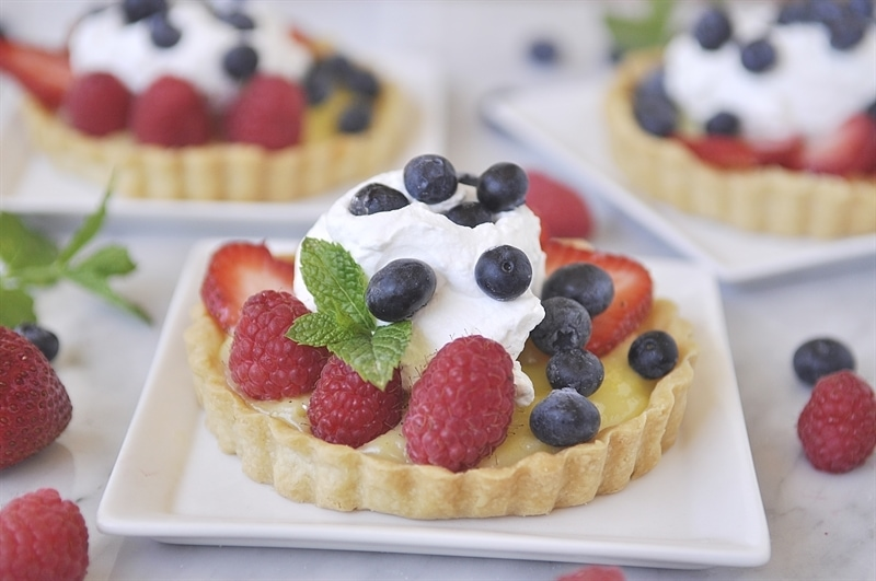 Berry Lemon Tart